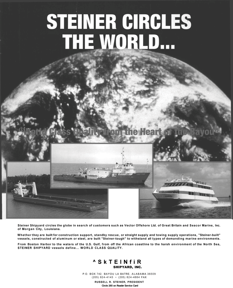 Maritime Reporter Magazine, page 63,  May 1992 Circle