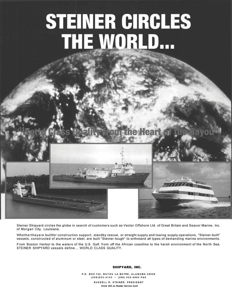 Maritime Reporter Magazine, page 65,  May 1992 North Sea