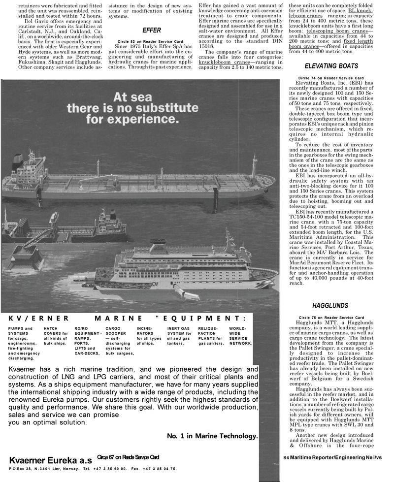 Maritime Reporter Magazine, page 82,  May 1992 Texas