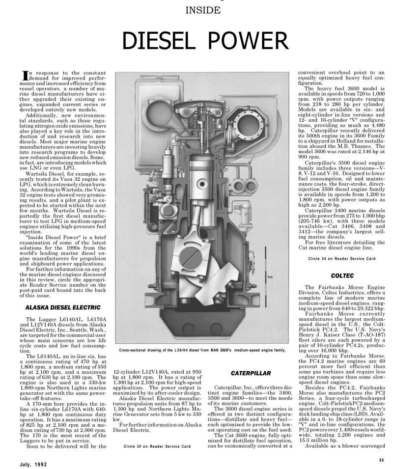 Maritime Reporter Magazine, page 23,  Jul 1992