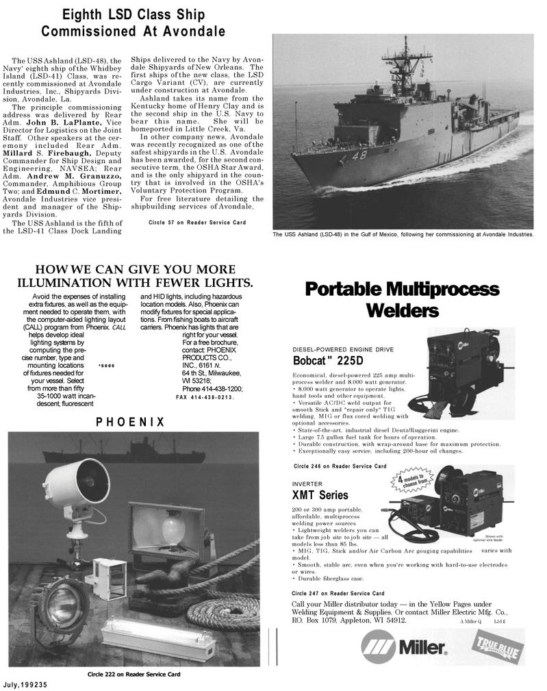Maritime Reporter Magazine, page 41,  Jul 1992