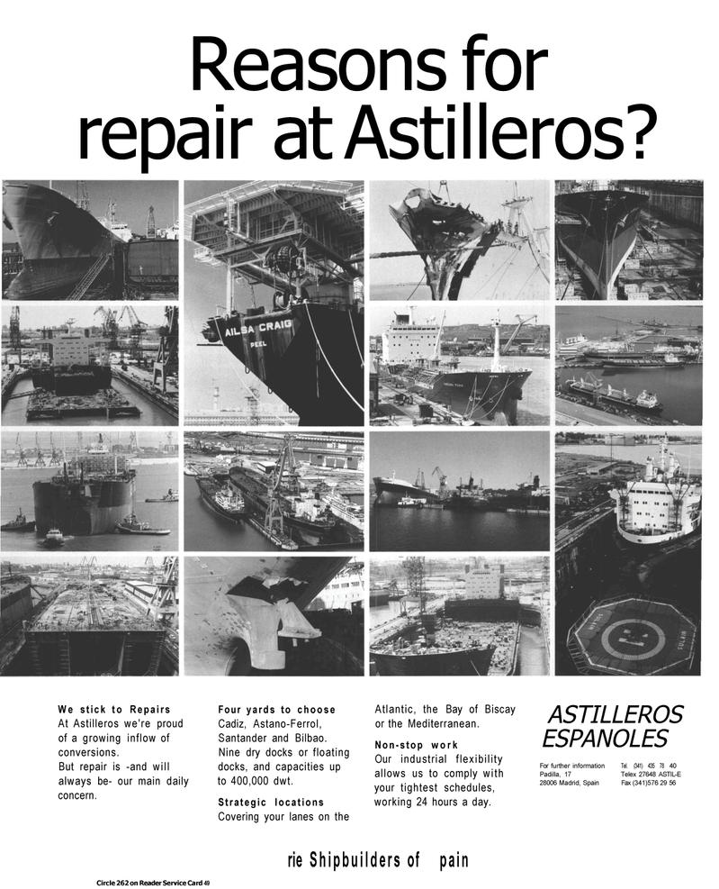 Maritime Reporter Magazine, page 43,  Jul 1992