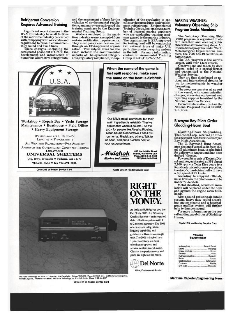 Maritime Reporter Magazine, page 8,  Mar 1994 Texas