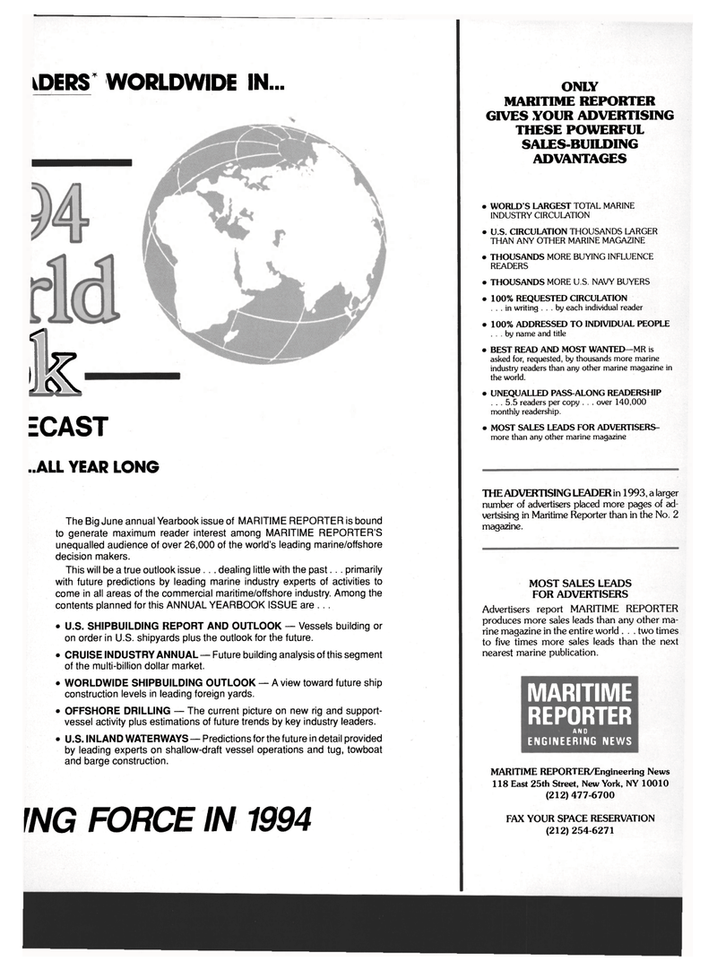 Maritime Reporter Magazine, page 105,  Mar 1994 BUILDING ADVANTAGES