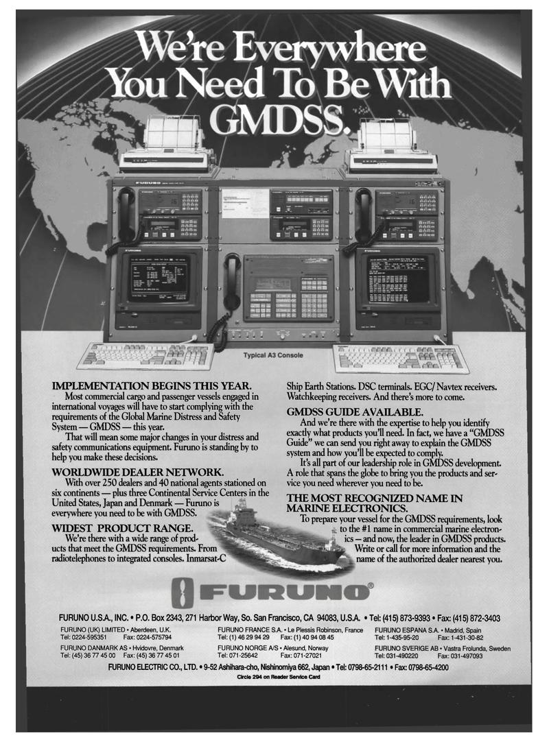 Maritime Reporter Magazine, page 18,  Mar 1994 Denmark