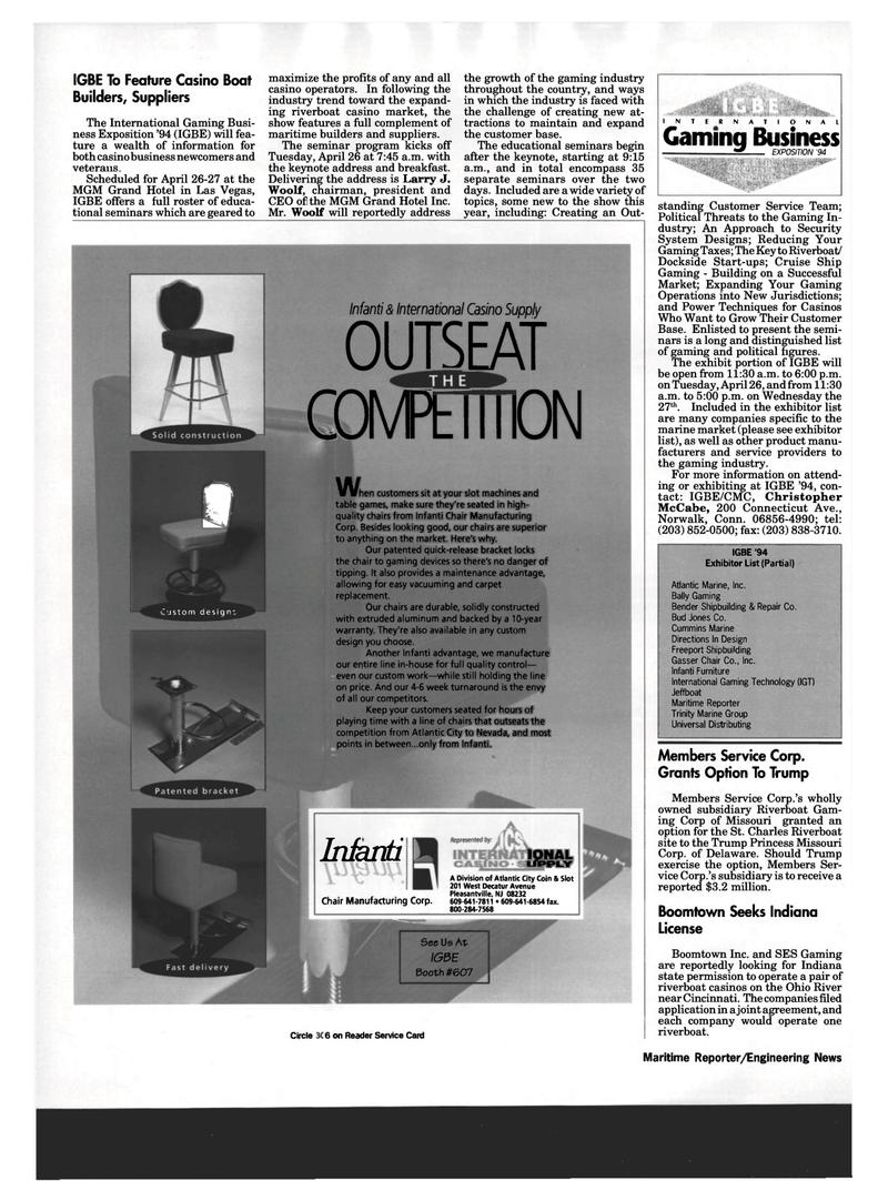 Maritime Reporter Magazine, page 42,  Mar 1994 Nevada