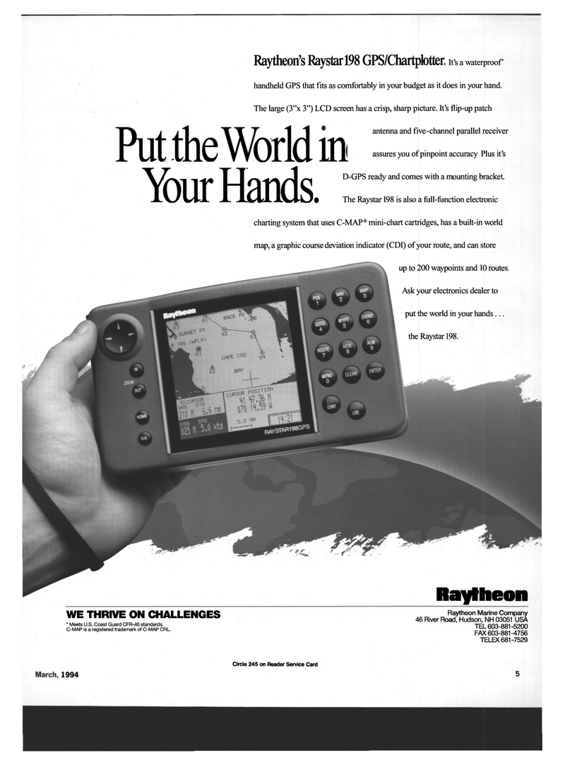 Maritime Reporter Magazine, page 3,  Mar 1994