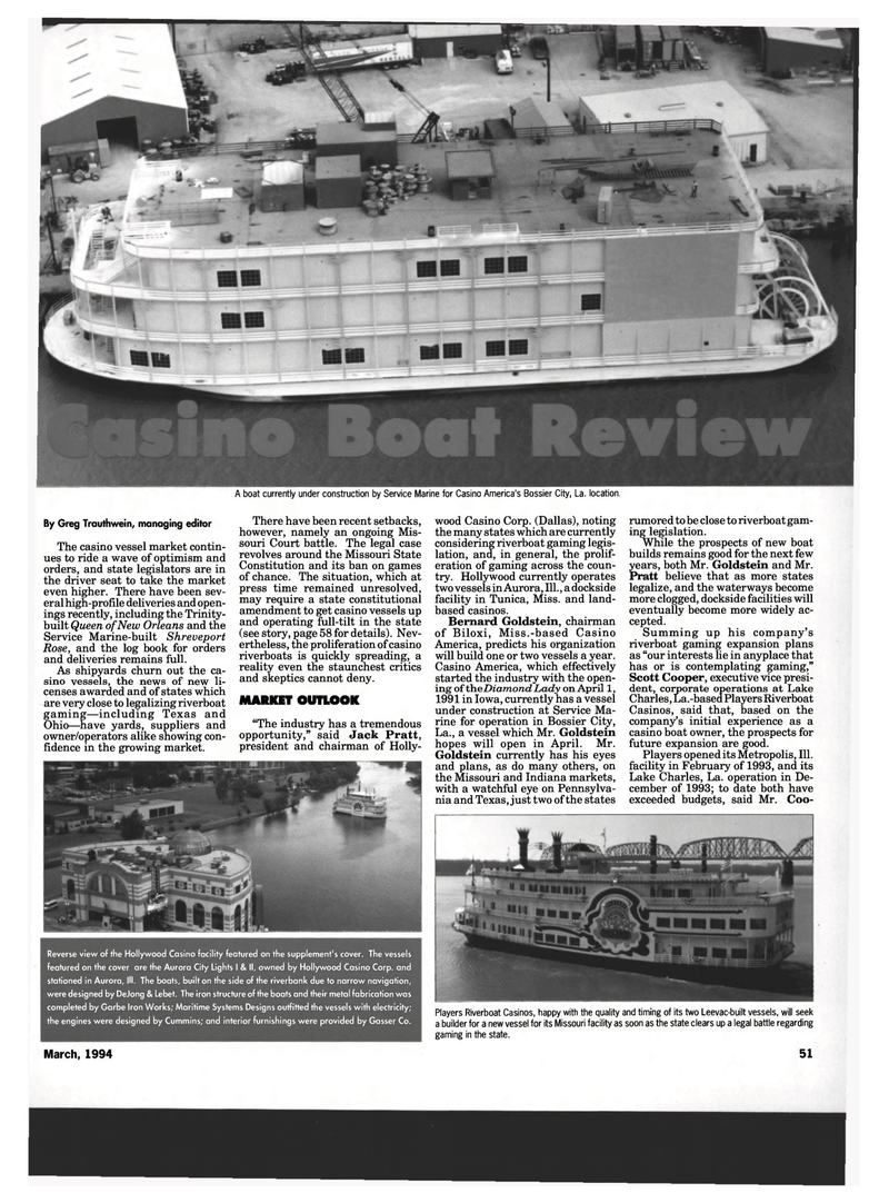 Maritime Reporter Magazine, page 49,  Mar 1994 Indiana