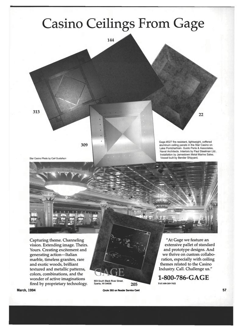 Maritime Reporter Magazine, page 55,  Mar 1994
