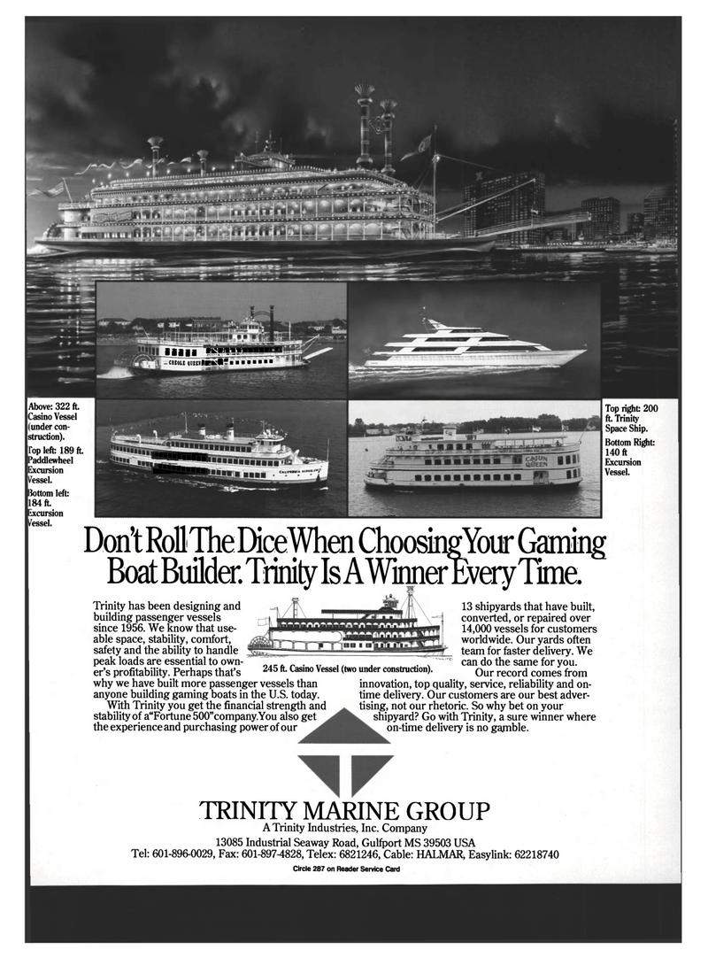 Maritime Reporter Magazine, page 57,  Mar 1994 Easylink