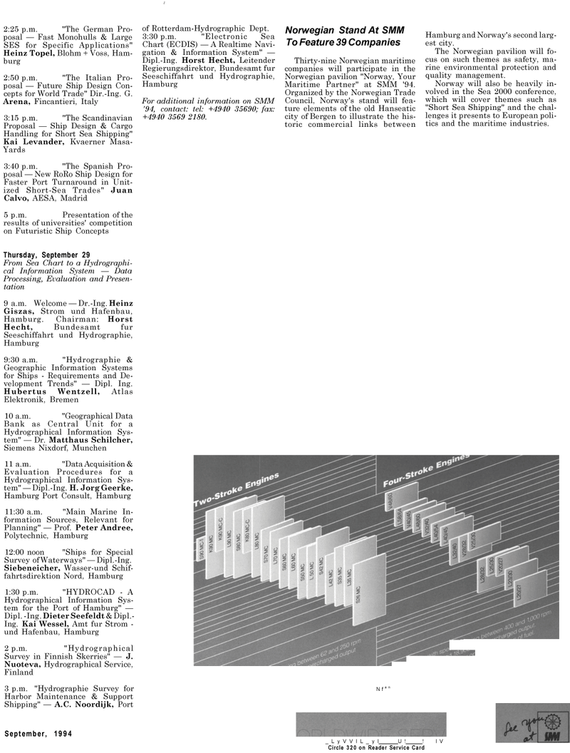 Maritime Reporter Magazine, page 37,  Sep 1994 Kai Wessel