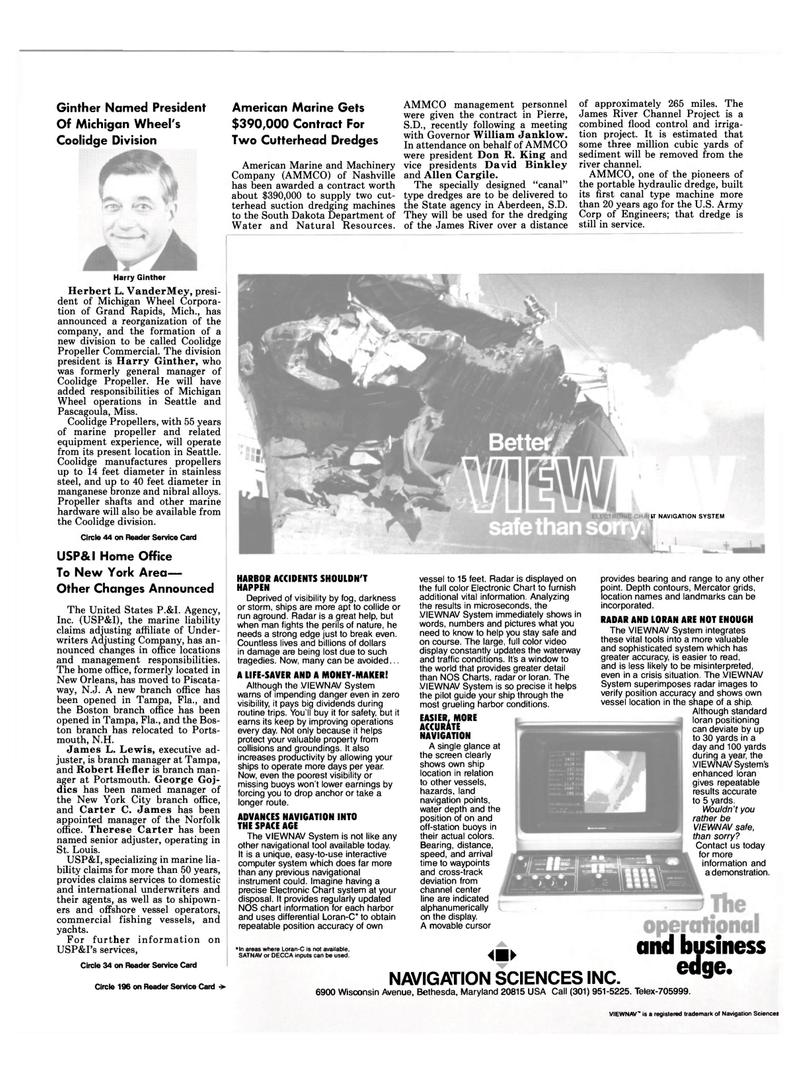 Maritime Reporter Magazine, page 13,  Sep 15, 1994 Maryland