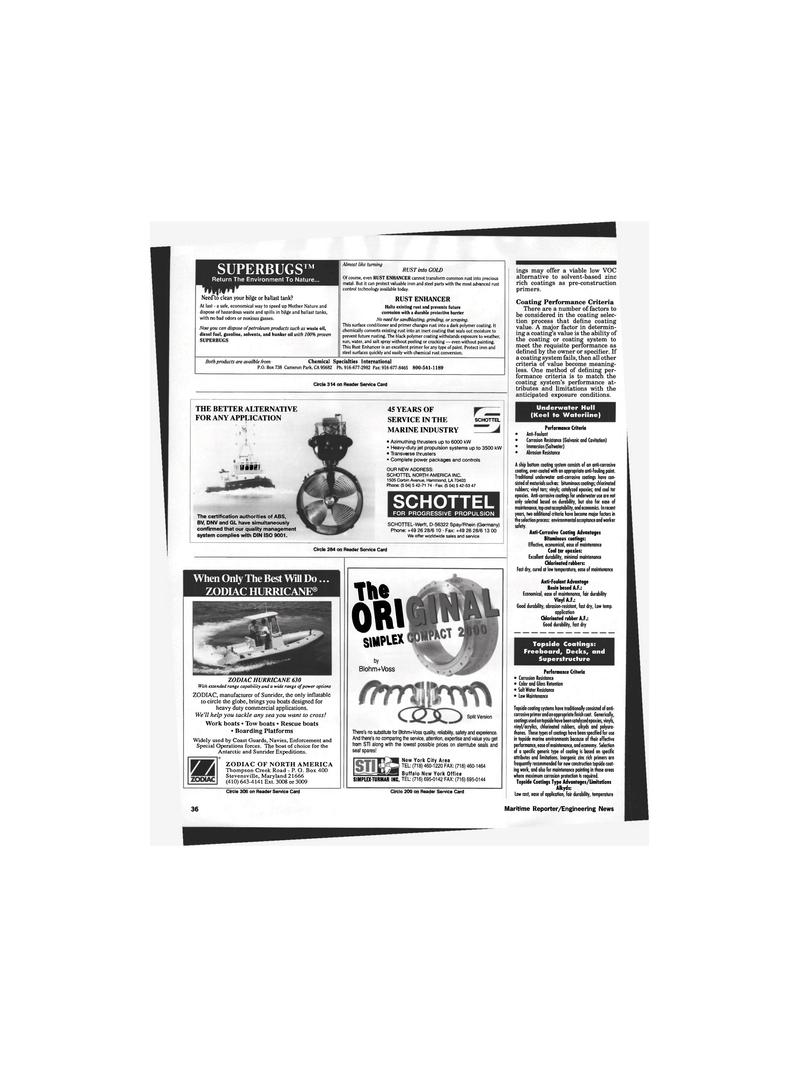 Maritime Reporter Magazine, page 34,  Oct 1995