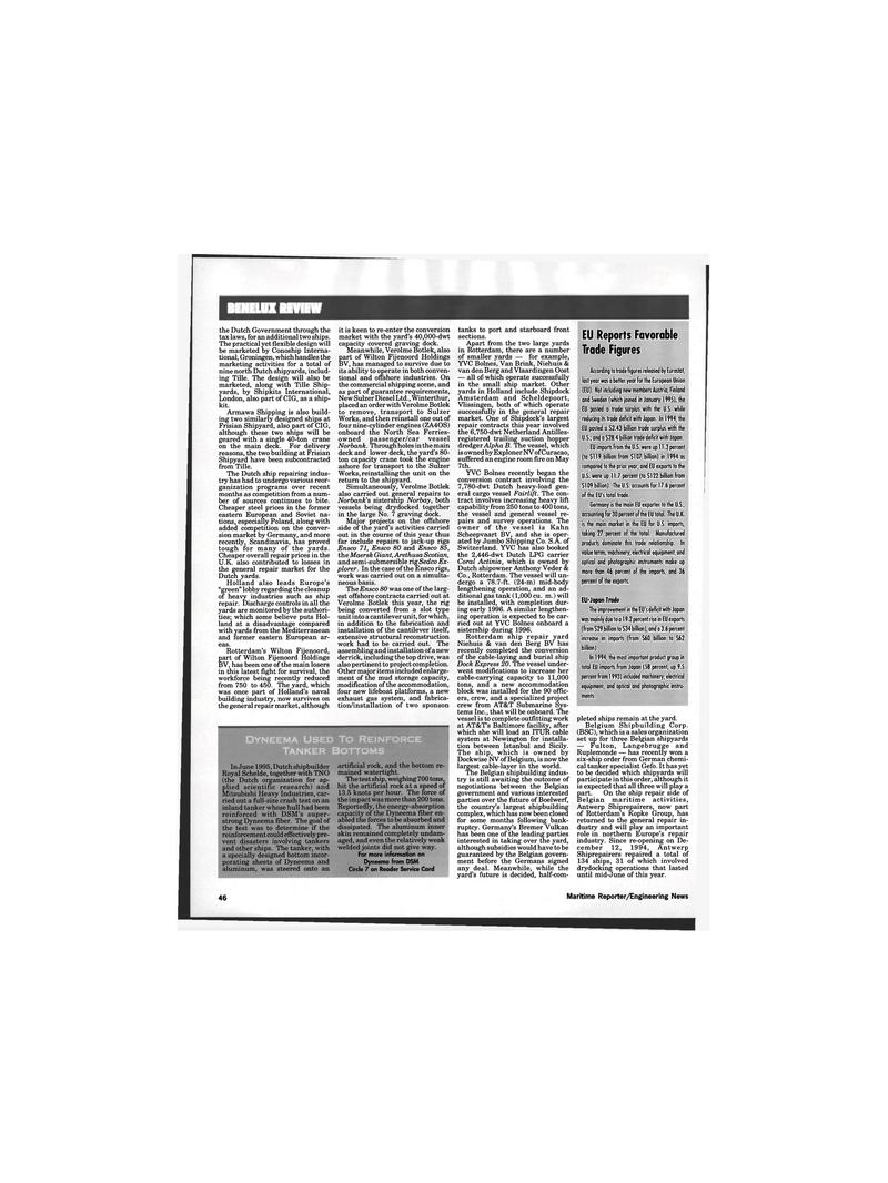 Maritime Reporter Magazine, page 44,  Oct 1995