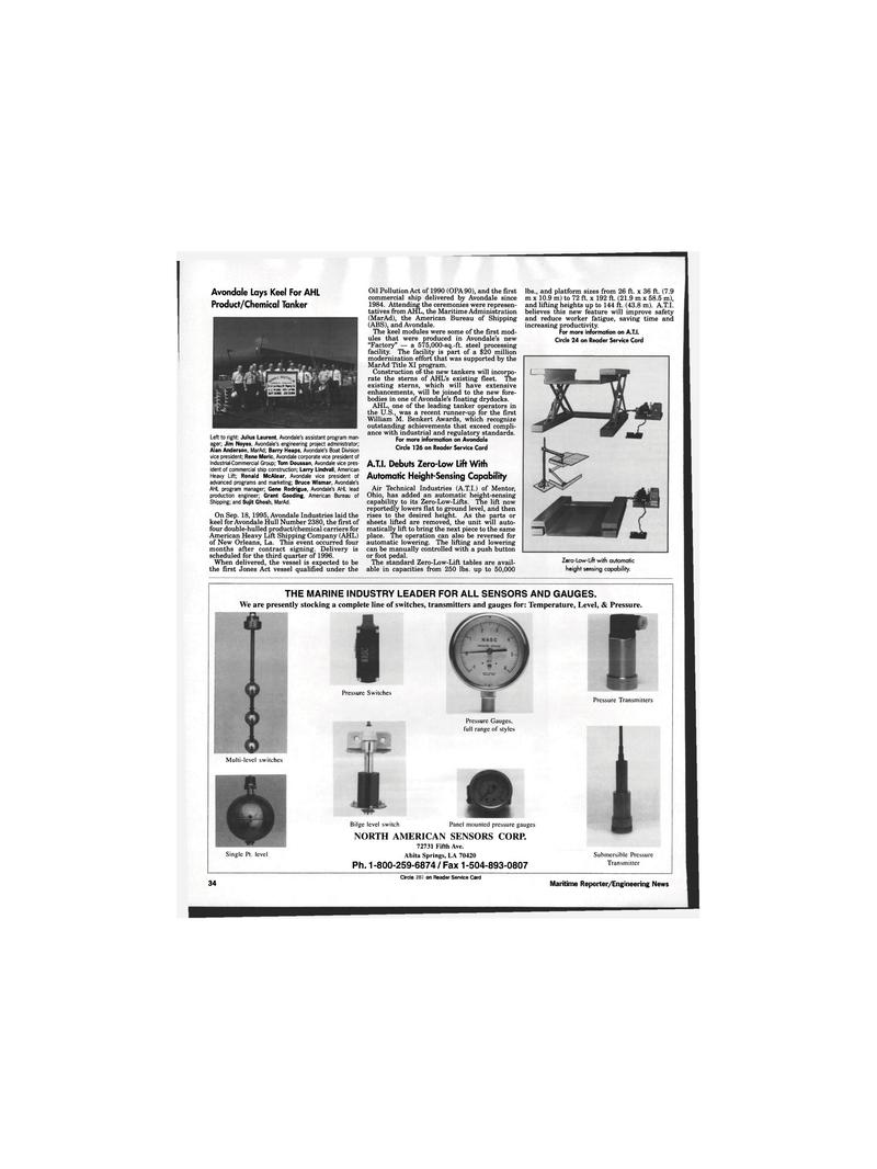 Louisiana, Maritime Reporter Magazine November 1995 #32