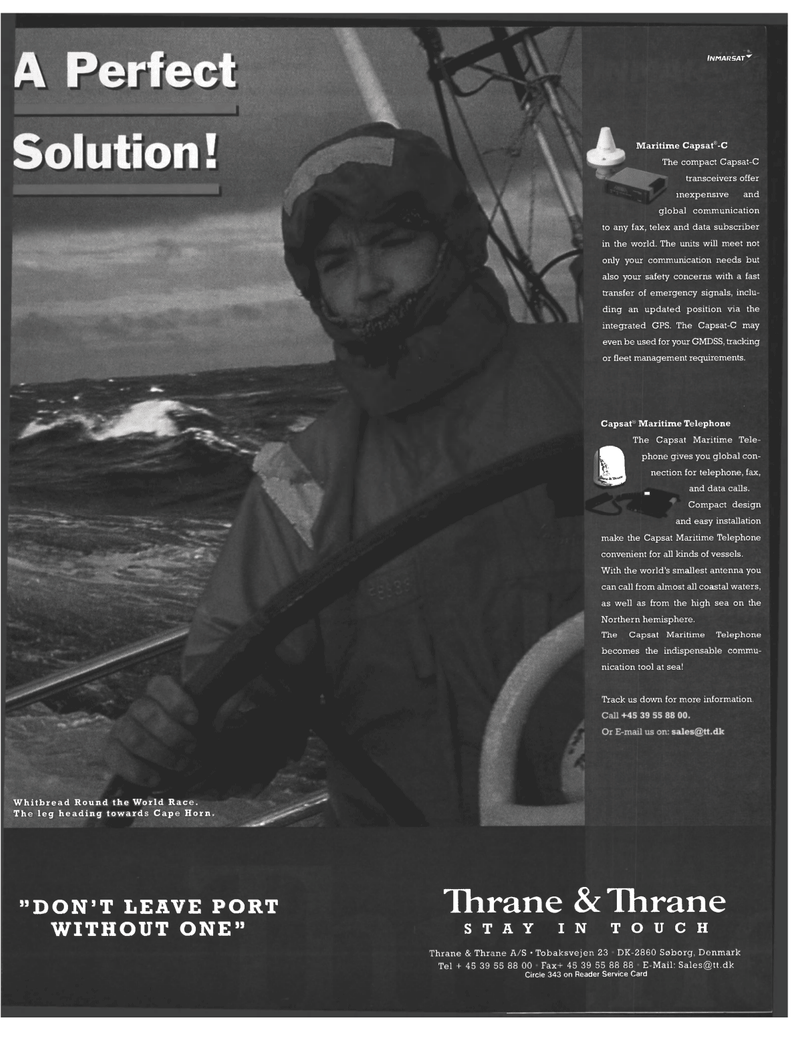 GPS, Maritime Reporter Magazine October 1998 #53