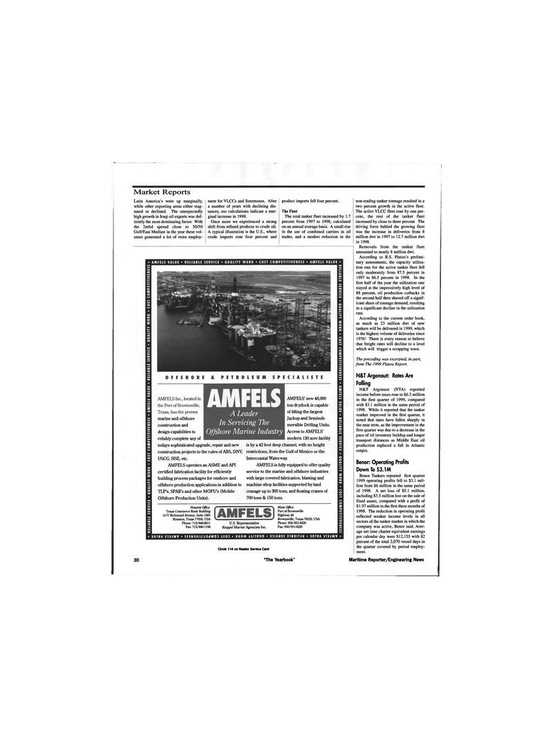 Api Maritime Reporter Magazine June 1999 30