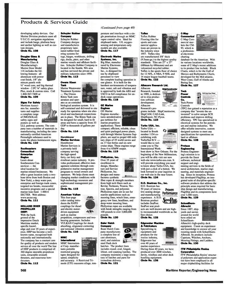 CAD, Maritime Reporter Magazine November 1999 #58