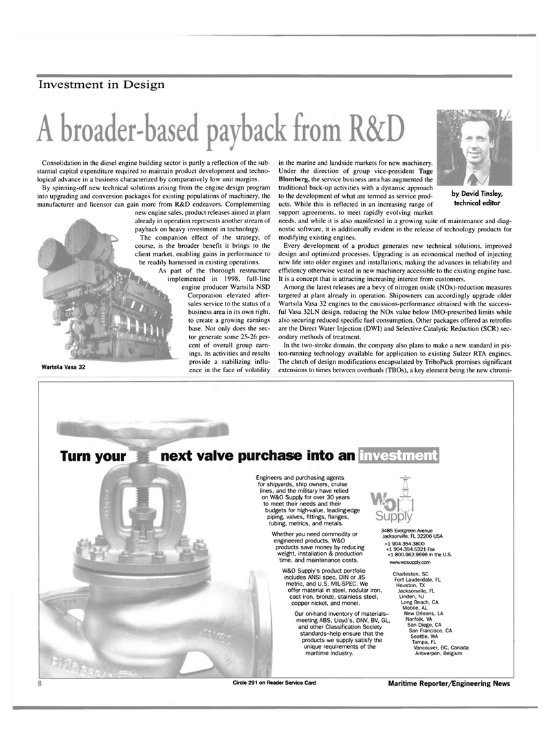 Maritime Reporter Magazine, page 8,  Mar 2000 British Columbia