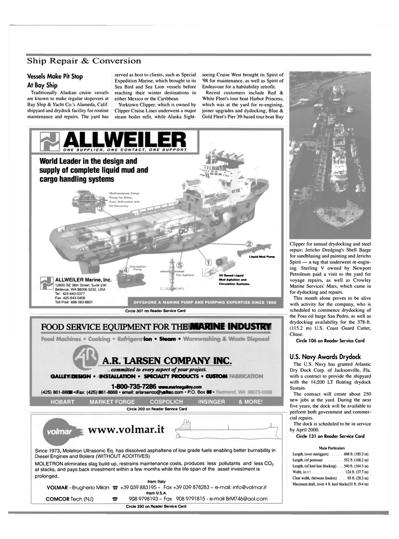 Maritime Reporter Magazine, page 30,  Mar 2000 California