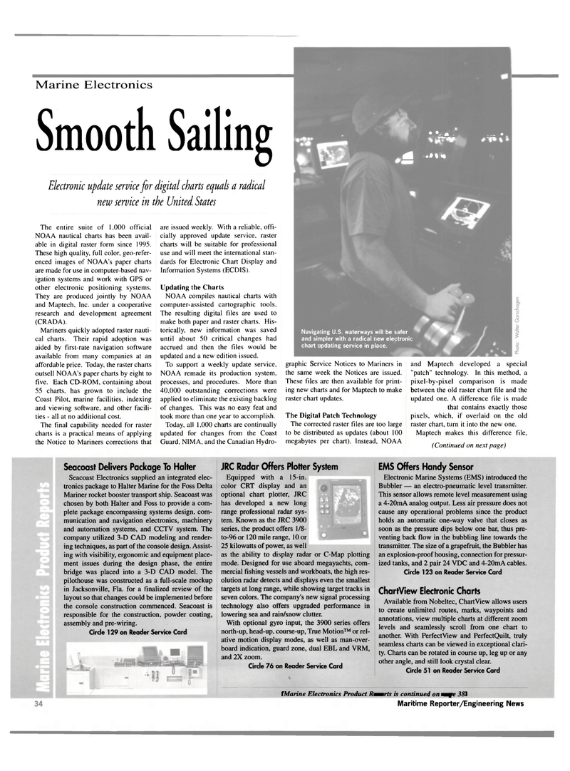 Maritime Reporter Magazine, page 34,  Mar 2000 Florida