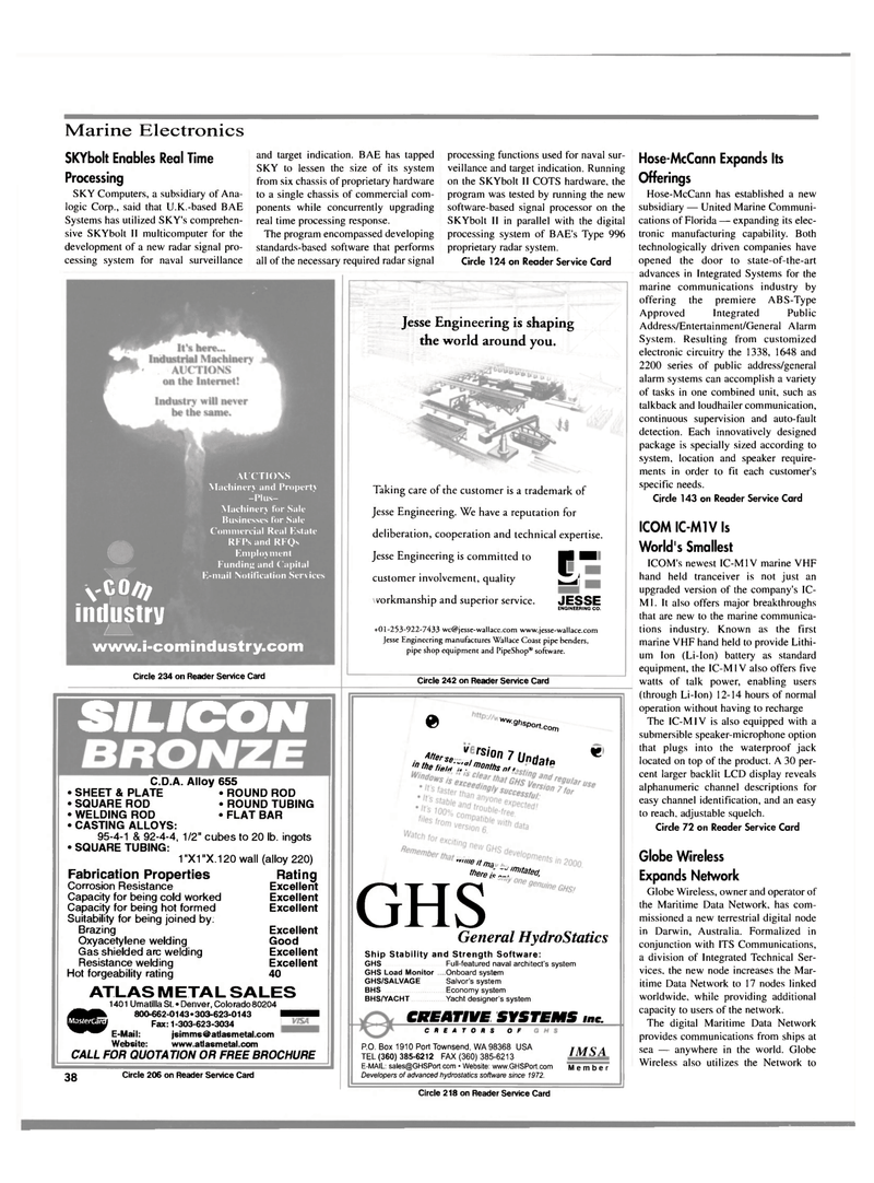 Maritime Reporter Magazine, page 38,  Mar 2000 Type 996