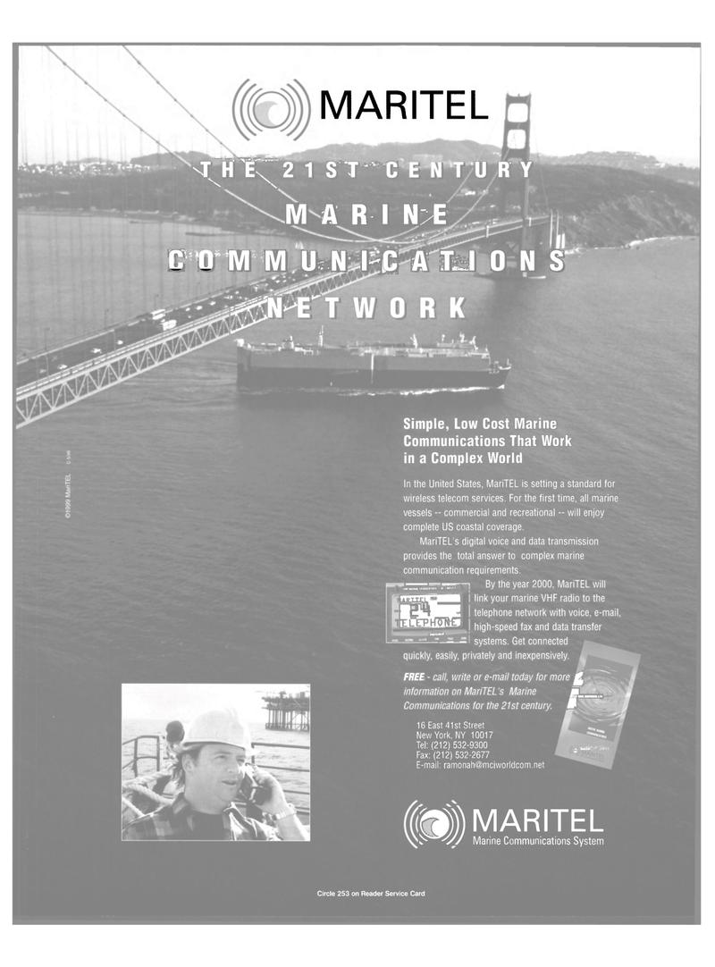 Maritime Reporter Magazine, page 39,  Mar 2000 wireless telecom services