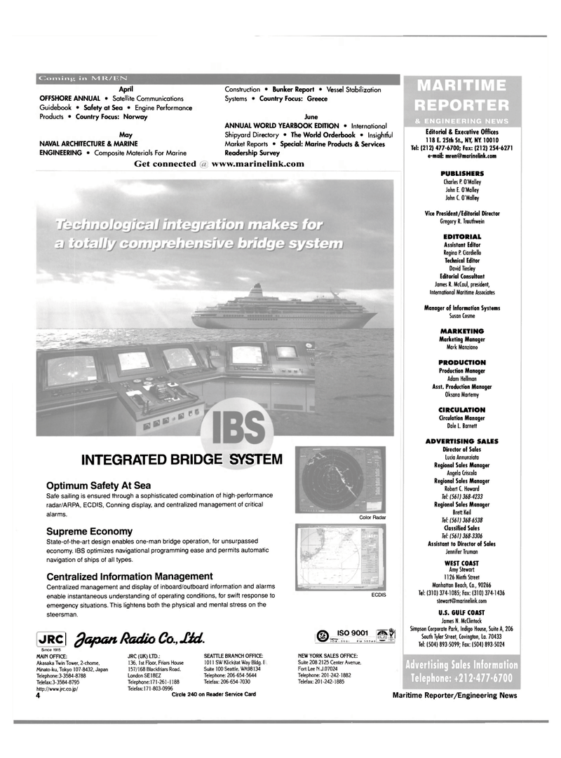 Maritime Reporter Magazine, page 4,  Mar 2000 U.S. Gulf Coast
