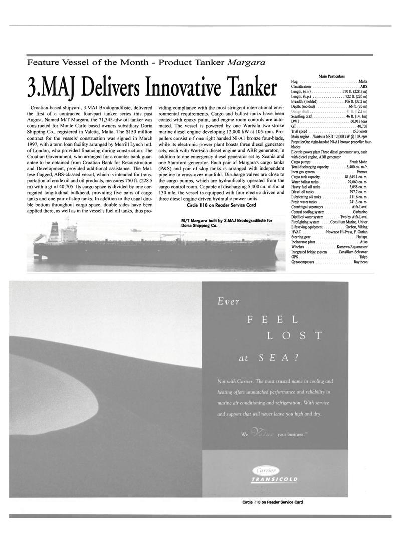 Maritime Reporter Magazine, page 61,  Mar 2000 Frank Mohn