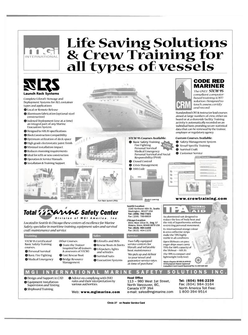 CAD, Maritime Reporter Magazine August 2000 #9