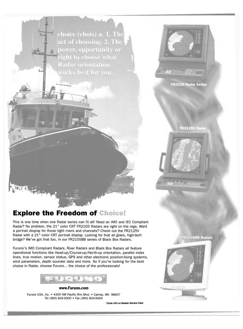 Maritime Reporter Magazine, page 25,  Oct 2000 river Black Box Radars