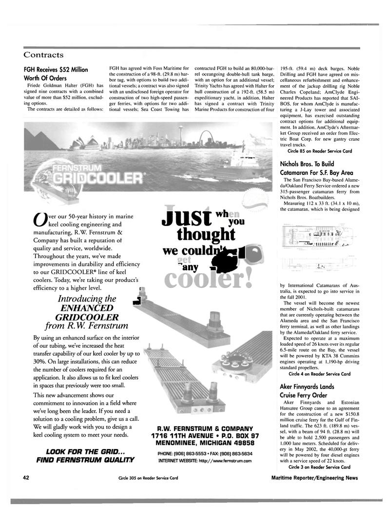 Maritime Reporter Magazine, page 44,  Oct 2000 Sea Coast Towing