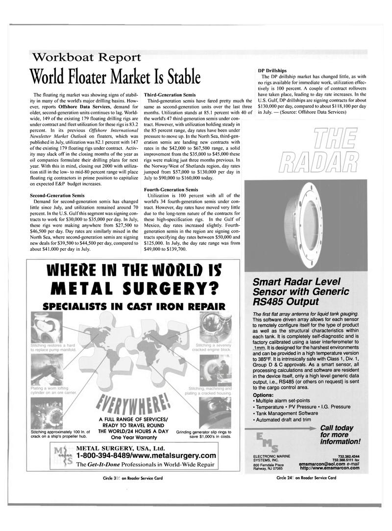 Maritime Reporter Magazine, page 31,  Nov 2000