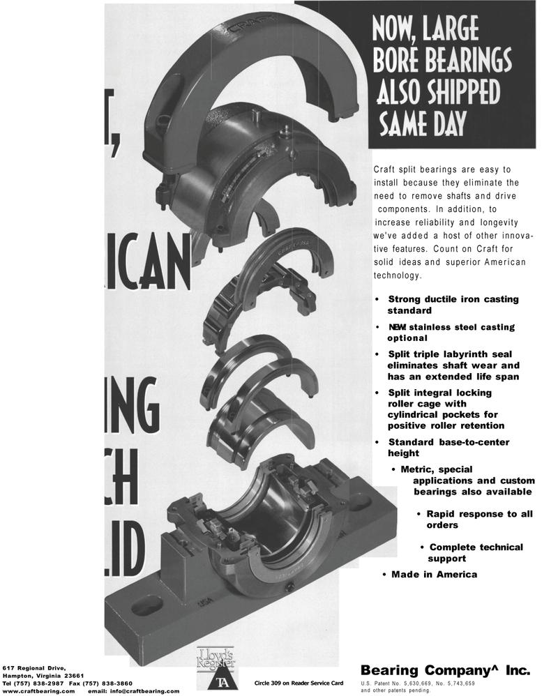 Maritime Reporter Magazine, page 1,  Mar 2001 America