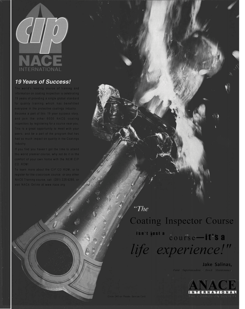 Maritime Reporter Magazine, page 47,  Mar 2001 Course