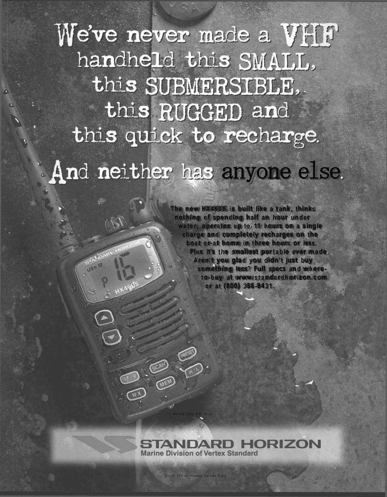 Maritime Reporter Magazine, page 5,  Mar 2001