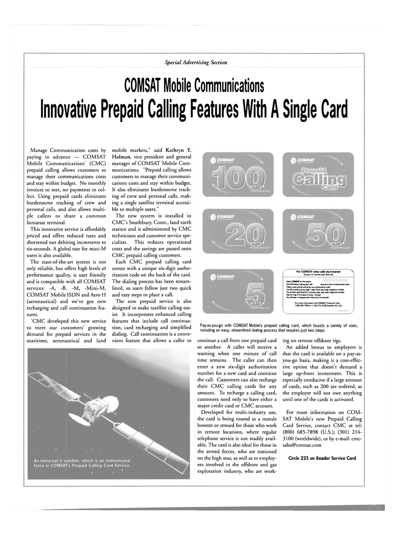 Maritime Reporter Magazine, page 22,  May 2001 Connecticut