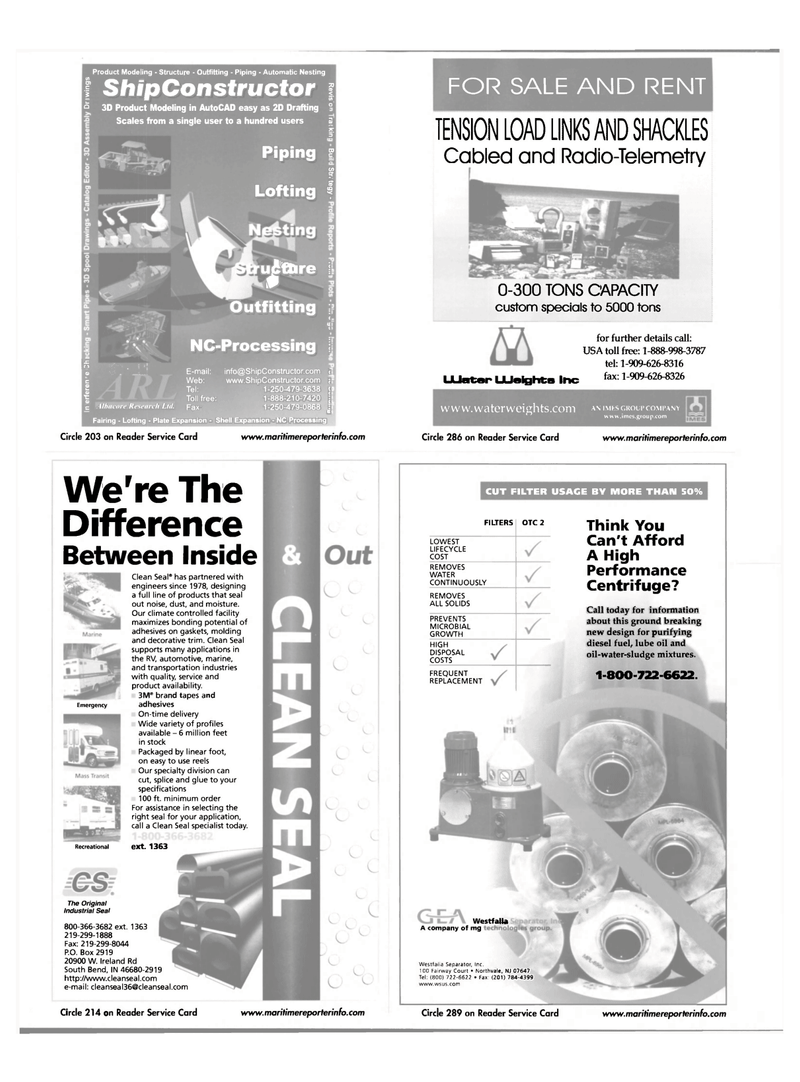 Maritime Reporter Magazine, page 18,  Jul 2001 Fairway Court