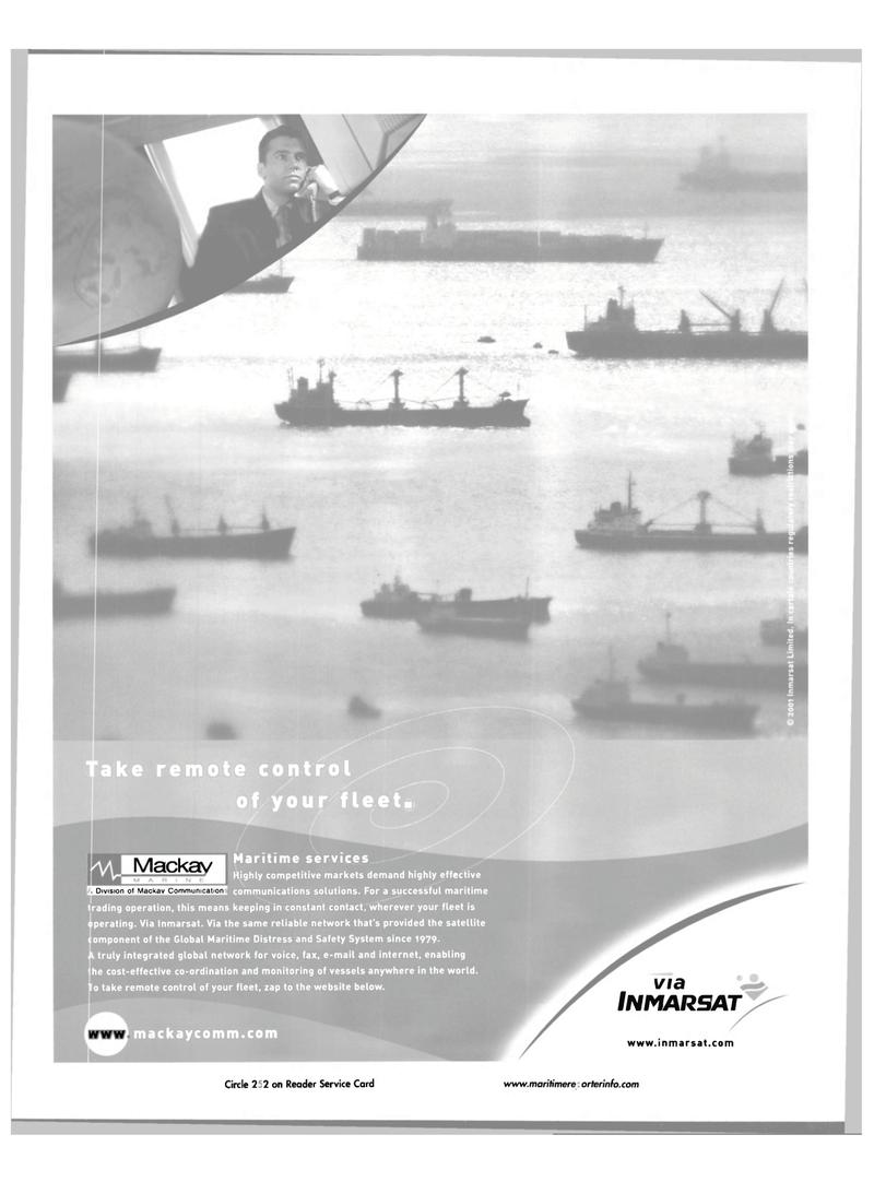 Maritime Reporter Magazine, page 34,  Jul 2001 satellite omponent