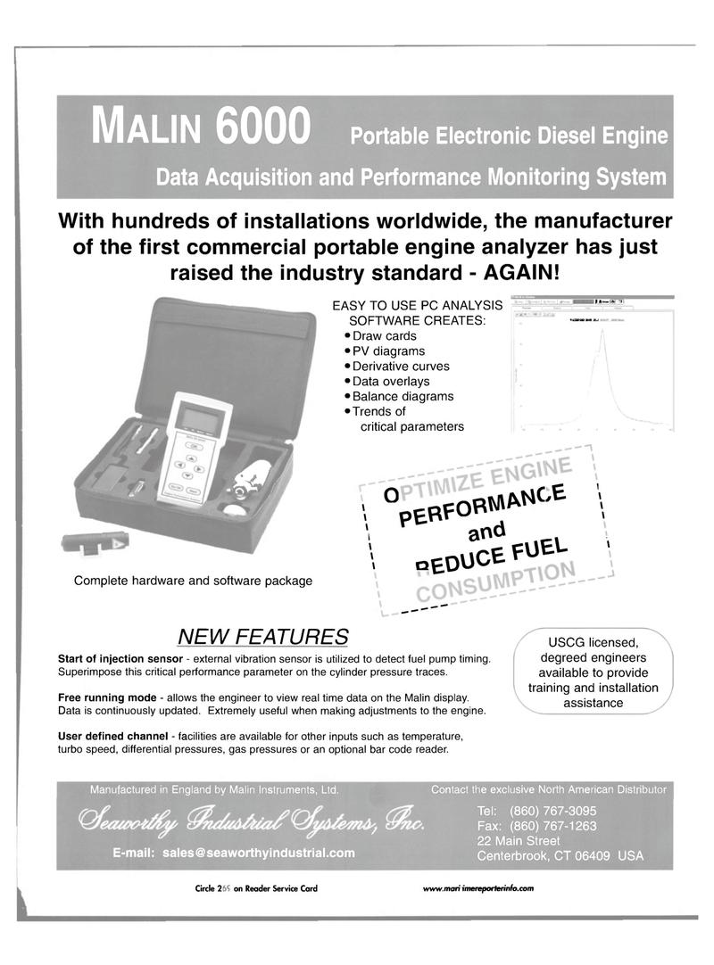 Maritime Reporter Magazine, page 49,  Jul 2001 gas pressures