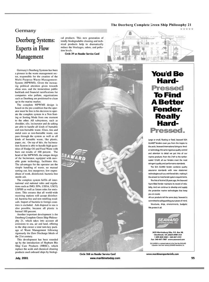 Maritime Reporter Magazine, page 63,  Jul 2001
