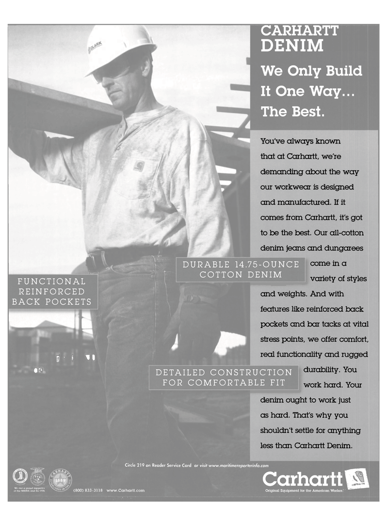 Maritime Reporter Magazine, page 31,  Oct 2001