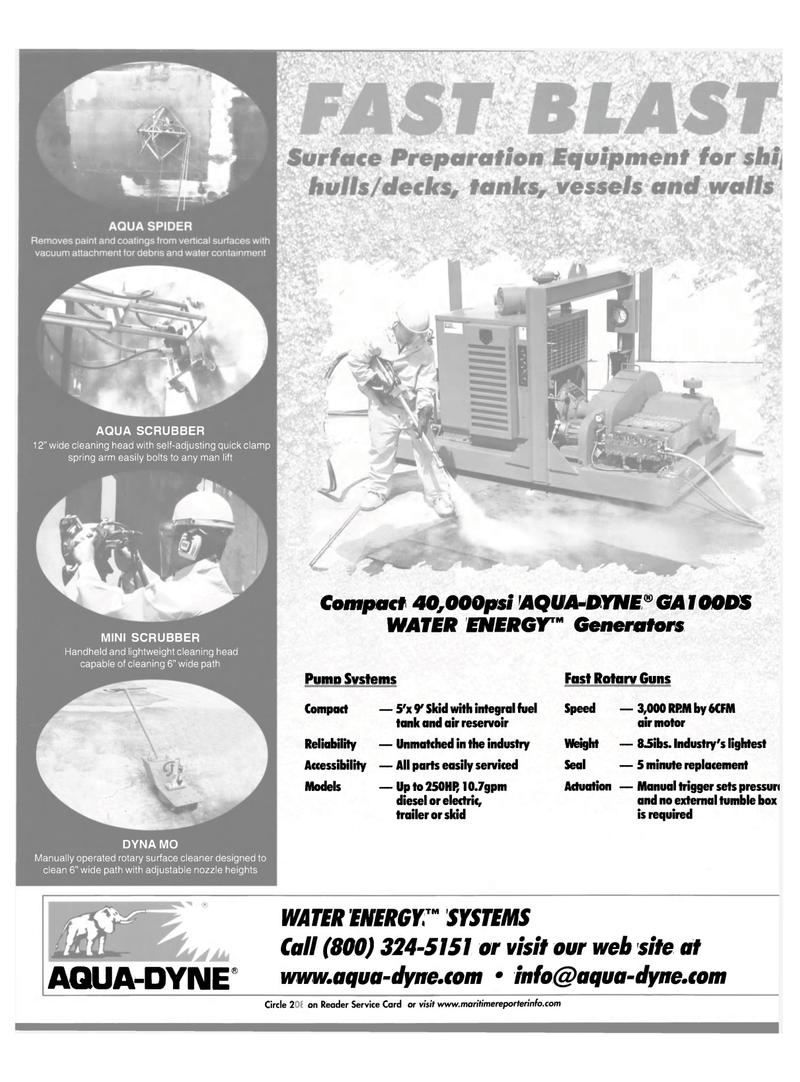 Maritime Reporter Magazine, page 63,  Oct 2001