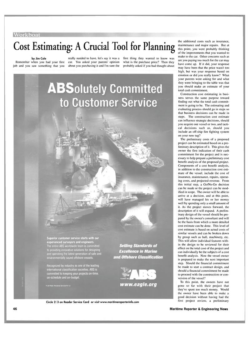 Maritime Reporter Magazine, page 46,  Nov 2001 machinery