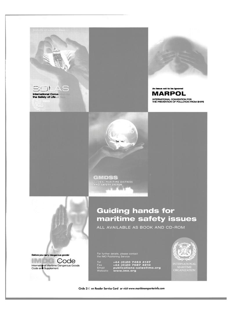 Maritime Reporter Magazine, page 49,  Nov 2001