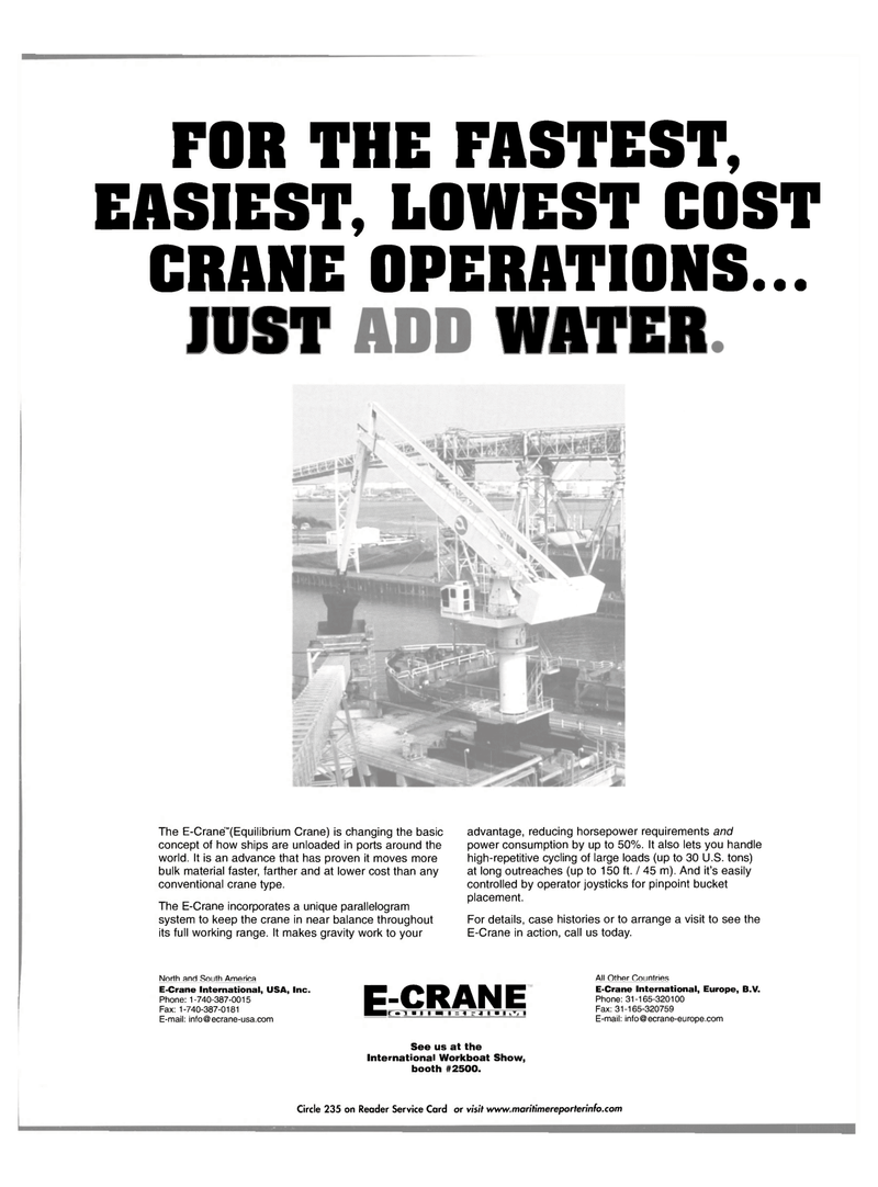 Maritime Reporter Magazine, page 65,  Nov 2001 United States