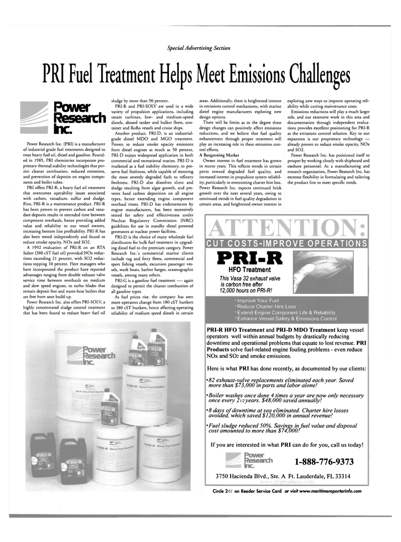 Maritime Reporter Magazine, page 42,  Mar 2002 manufacturing