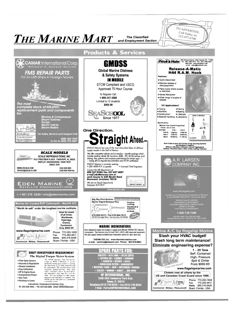 Maritime Reporter Magazine, page 58,  Mar 2002