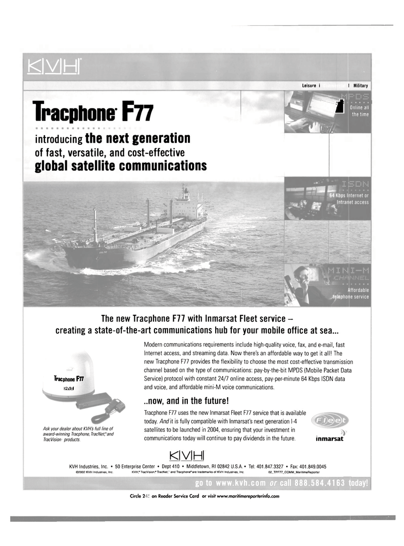 Maritime Reporter Magazine, page 32,  Aug 2002 Enterprise Center