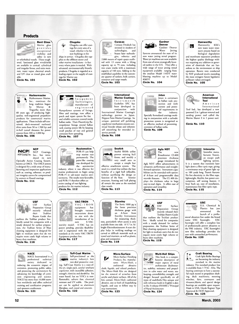 Maritime Reporter Magazine, page 52,  Mar 2003 National Science Foundation